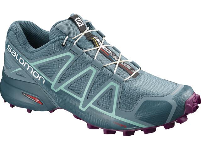 Salomon W's Speedcross 4 Shoes bluestone/mallard blue/dark purple